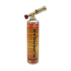 Паяльная лампа (горелка) КЕМПЕР 1047 с баллоном газ бутан-пропан (резьбовой)