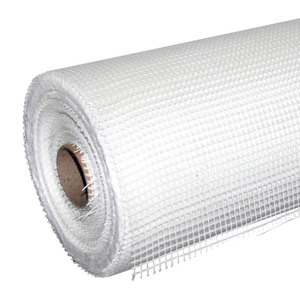 Сетка стеклотканевая Люкстейп Интерьер, 5х5 мм, 1х20 м, 65 гр/м2