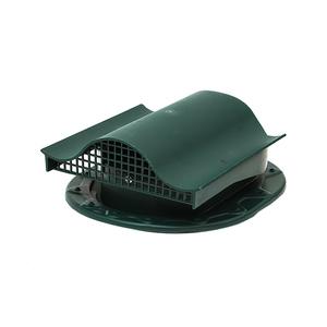 СК Аэратор КТВ-вентиль для готовой кровли из гибкой черепицы, зеленый