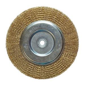 Щетка-крацовка Biber дисковая 200 мм с переходниками