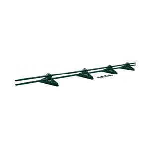 Снегозадержатель трубчатый для металлочерепицы, зел. мох (RAL 6005) (3 м)