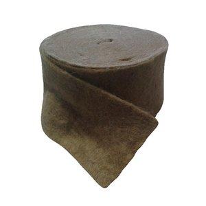 Утеплитель межвенцовый Джут, 4-6 мм, 100 мм, 20 м