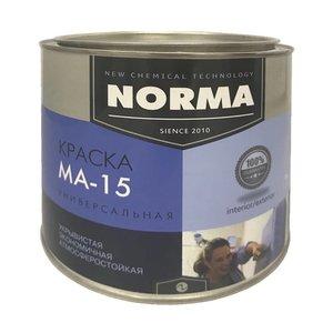 Краска масляная Novocolor МА-15 ГОСТ-71 жёлтая (2 кг)