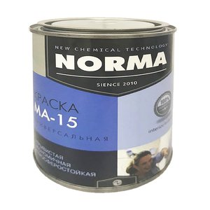 Краска масляная Novocolor МА-15 ГОСТ-71 белая (1 кг)