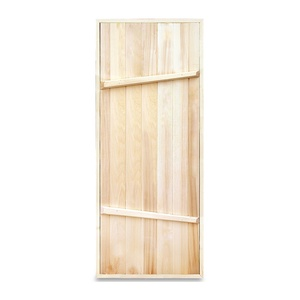 Дверной блок банный хвоя 1770х770х80 мм с коробкой
