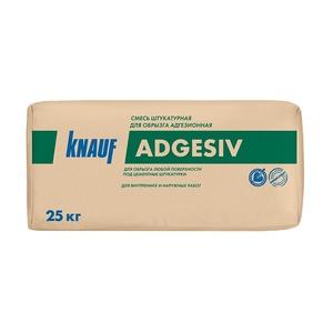 Штукатурка Knauf Adgesiv цементная для обрызга адгезионная, 25 кг
