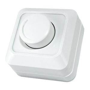 Светорегулятор в рамку SQ1801-0109 поворотный о/у, 600Вт, IP20