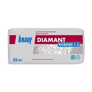 Штукатурка декоративная Knauf Diamant короед, 1,5 мм, 25 кг