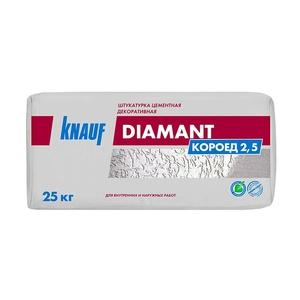 Штукатурка декоративная Knauf Diamant короед, 2,5 мм, 25 кг