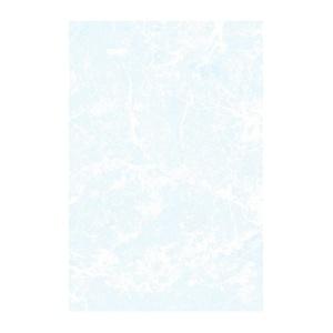 Плитка настенная 200х300х7 мм БКСМ Мрамор светло-синяя
