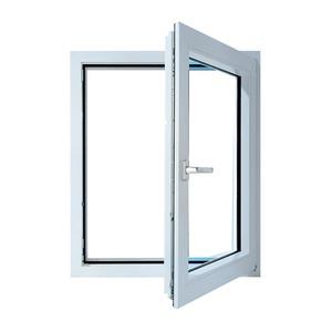 Окно металлопластик. 600х500 мм поворотное правое