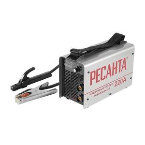 Инвертор сварочный Ресанта САИ 220 (10-220А 140-260В, 2-5 мм)