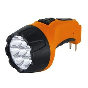 Фонарь ручной аккумуляторный, SQ0350-0040, 7 светодиодов