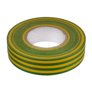 Изолента ПВХ 19 мм желто-зеленый (20 м)