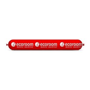 Герметик акриловый Ecoroom AS-12 паропроницаемый (0,6 л) белый