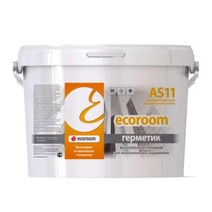Герметик акрил. Ecoroom AS-11 для межпанел. швов с высокой деформ. (7кг) белый
