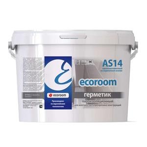 Герметик акриловый Ecoroom AS-14 пароизоляционный (7 кг) белый