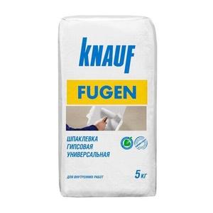 Шпаклевка гипсовая Knauf Fugen, универсальная, 5 кг