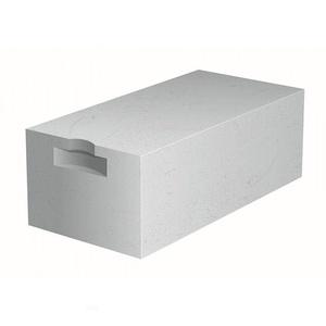 Блок стеновой газобетонный Д500, 600х250х400 мм