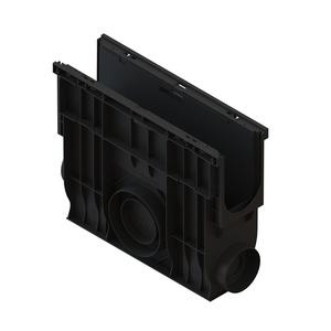 Пескоуловитель с корзиной Standartpark Basic DN100, 500х156х400 мм, пластик 80806-М