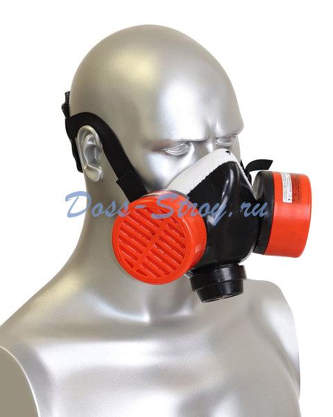 Респиратор РУ газо пылезащитный с патроном В1Р1D В