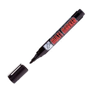 Маркер перманентный черный линия 1-5 мм