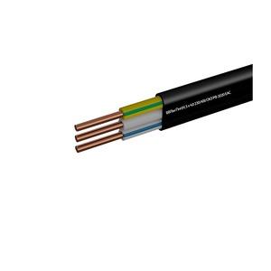 Кабель ВВГ-Пнг 3х4 мм2, черный (1 п.м.)