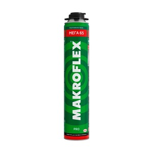 Пена монтажная Makroflex Mega 65 Pro, 0,85 л