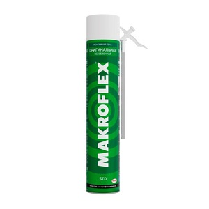 Пена монтажная Makroflex Original STD, всесезонная, 0,75 л