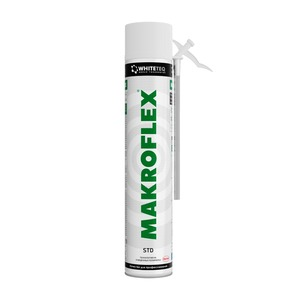 Пена монтажная Makroflex WhiteTeq STD, белая, 0,75 л