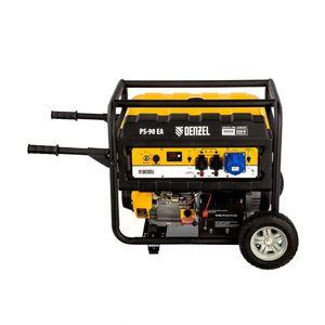 Бензиновый генератор DENZEL PS 90 EA 9,0 кВт 230В 25л