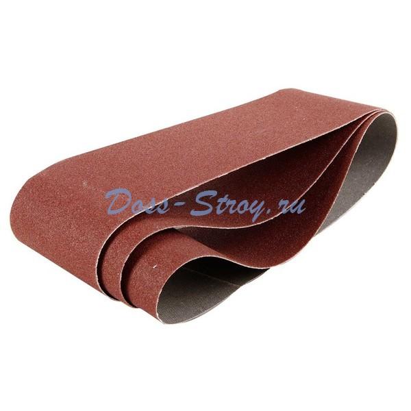 Лента шлифовальная универсальная бесконечная на тканевой основе STAYER MASTER для ЛШМ P80 75х457 мм 3шт