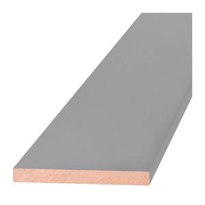Добор Олови Серый RAL7040 крашенный 100х10х2200 мм