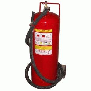 Огнетушитель порошковый ОП-25 (з) ABCЕ передвижной