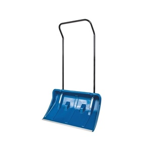 Движок-лопата пластиковая для уборки снега с колесиками 820х450 мм