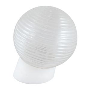 Светильник НББ E27, 60Вт, 230В, IP20, шар, наклонное основание, стекло