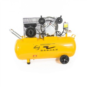 Пневматический компрессор 2,2 кВт 370 л/мин 100 л Denzel