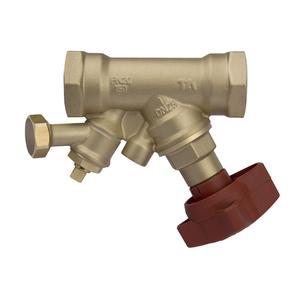 Балансировочный клапан STA с дренажом PN 20
