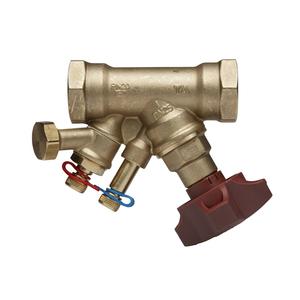 Балансировочный клапан STAD с дренажом PN20