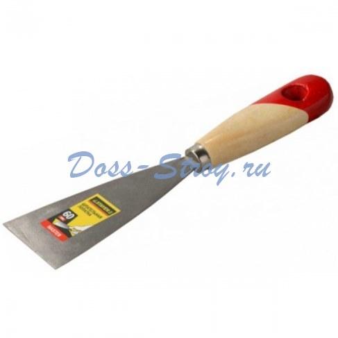 Шпательная лопатка STAYER MASTER c деревянной ручкой 60 мм