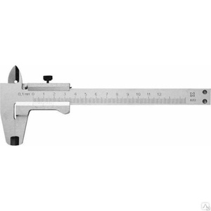 Штангенциркуль стальной СИБИН 125 мм