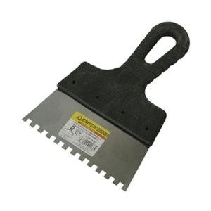 Шпатель STAYER PROFESSIONAL нержавеющий зубчатый 150 мм зуб 8/8 мм