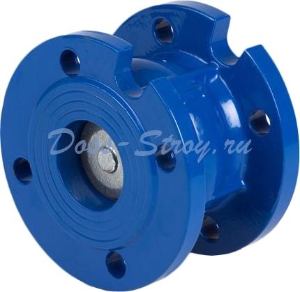 Клапан обратный дисковый фланцевый чугунный Genebre 2450-18 Ру16 Ду250