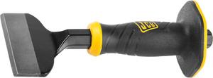 Зубило JCB, двухкомпонентная рукоятка с протектором, CrV cталь