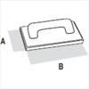 Терка каучуковая мелкопористая DEKOR 135х215 мм