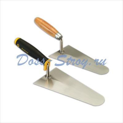 Кельма штукатурная DEKOR 200 мм деревянная ручка
