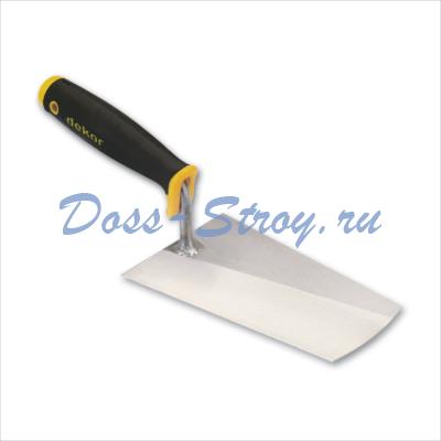 Кельма каменщика DEKOR 200 мм пластиковая ручка