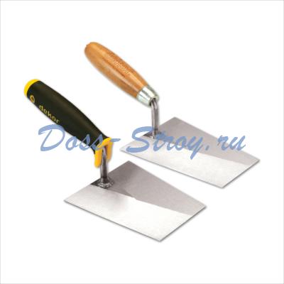 Кельма каменщика DEKOR 180 мм деревянная ручка