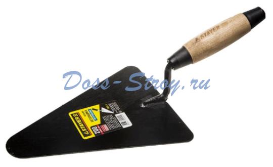 Кельма бетонщика с деревянной усиленной ручкой STAYER 200 мм