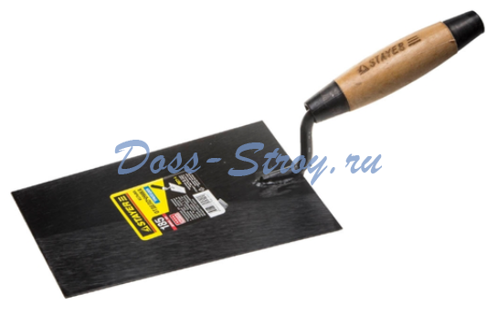Кельма отделочника с деревянной усиленной ручкой STAYER 185 мм